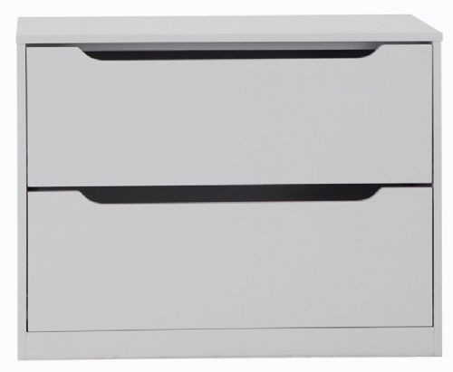 Manhattan Grey Wardrobe Chest